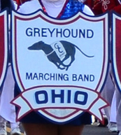 Greyhound Marching Band Logo