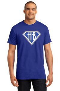 T-shirt mockup with logo